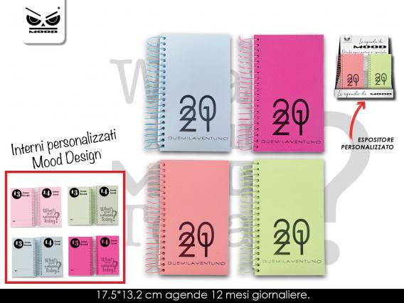 Agenda 2021 Color Spirale Conf 12 Pz